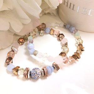 Hillberg & Berk Ethereal Luxe bracelets